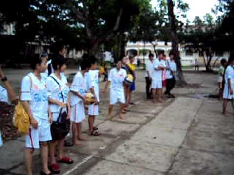 10C6 TRUONG THPT PHAN NGOC HIEN - CHUNG KẾT GIẢI BÓNG CHUYỀN NŨ CHÀO MỪNG 20/11