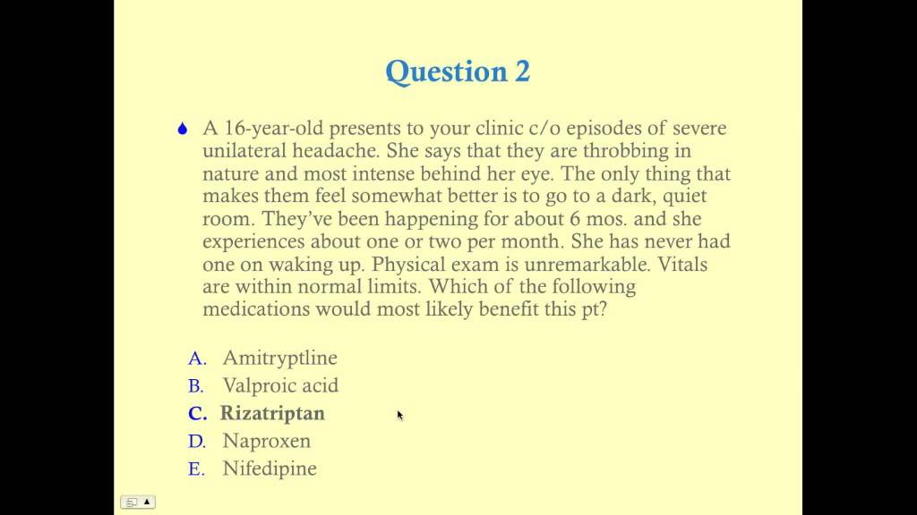 Neurology Review Questions Part 1 CRASH Medical Review Series