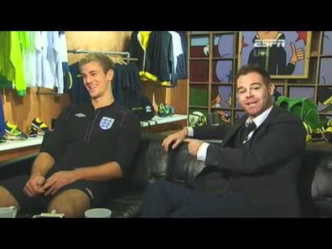 Richard Lenton interviews Joe hart