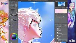 Draw Elegant Digital Linework in Manga Studio with the Curve Tool