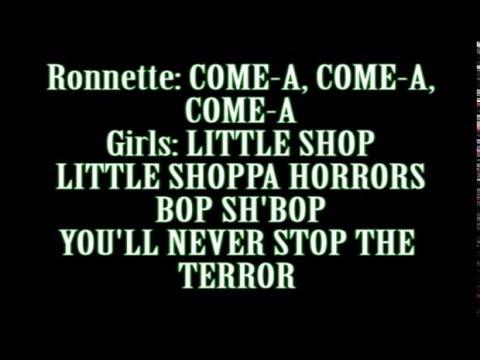 Little Shop of Horrors Lyrics | Little Shop of Horrors