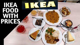 only ate at ikea