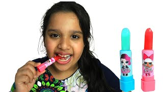 shfa colors candy  mukbang  Toddler