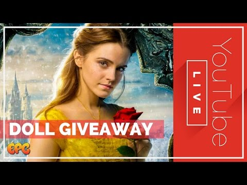🔴 LIVE BEAUTY AND THE BEAST 2017 DOLL FAN GIVEAWAY