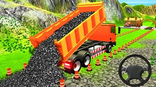 Airport Road Construction Simulator - Intersection Road Builder Truck Driving - Android Gameplay