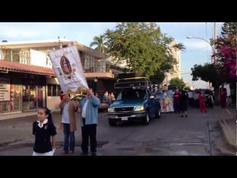 Peregrinación - Alumnos de Colegios Sinaloa Guadalupe PARTE 1