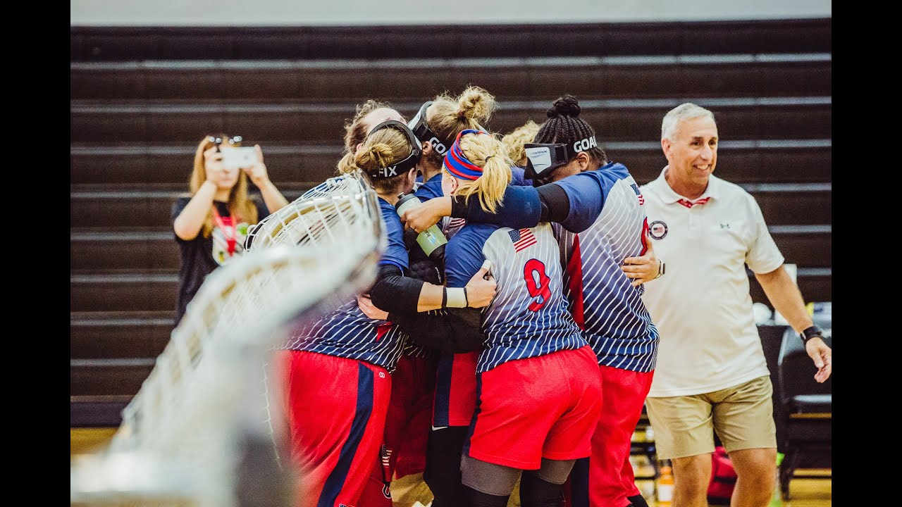 Up Close and Personal: US women's goalball team