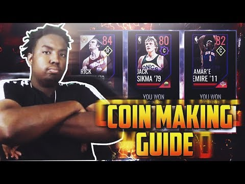 NBA LIVE MOBILE 18 END OF THE SEASON COIN MAKING GUIDE!!!