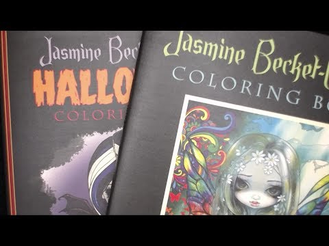 Jasmine Becket-Griffith book flip through