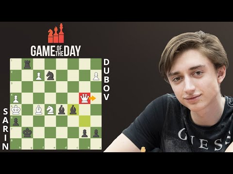 Dubov Has Only One Winning Move...Will He Find It? | Abu Dhabi Blitz Chess