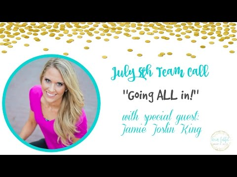 """Team FabFit - Team Call with Jamie King """"Going ALL in!"""""""