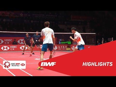 HSBC BWF World Tour Finals 2018   MD - SF - HIGHLIGHTS   BWF 2018
