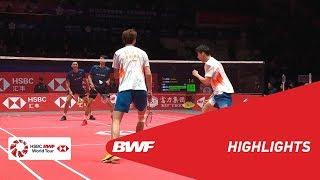 HSBC BWF World Tour Finals 2018 | MD - SF - HIGHLIGHTS | BWF 2018