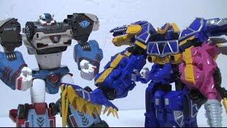 파워레인저 다이노포스 티라노 스피노킹 장난감 power rangers dino charge toys 또봇 델타트론