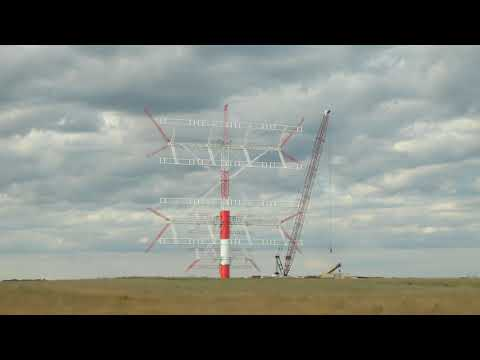 HUGE Radio Antenna In Monticello, Maine