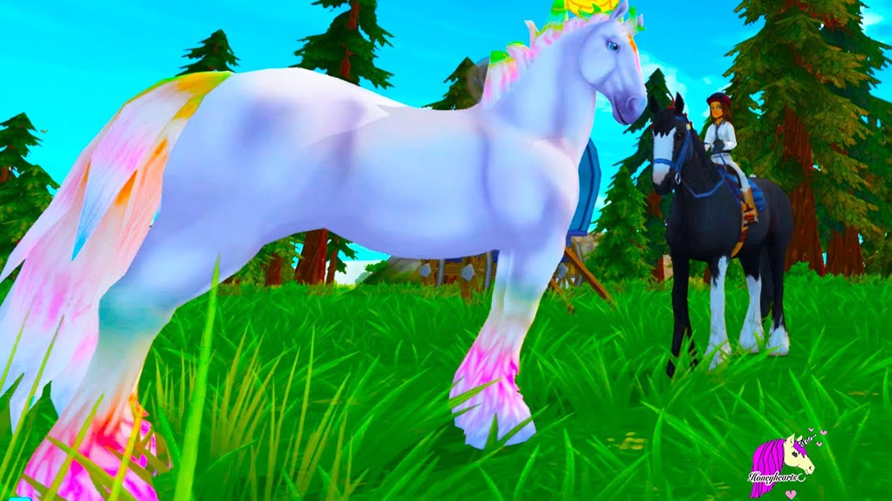Magic Color Changing Horses ! Color Change Jorvik Wild ...