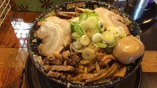 【油&脂注意報】平太周の爆盛り油脂麺+チャーシュー