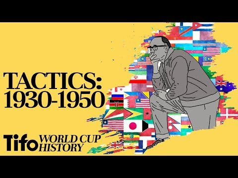 Tactics Explained | 1930-1950: A History Of The World Cup