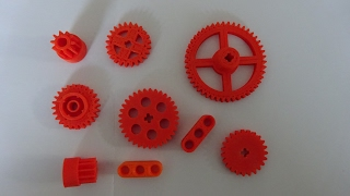 LEGO TECHNIC - 3D Printed Lego Compatible Gears