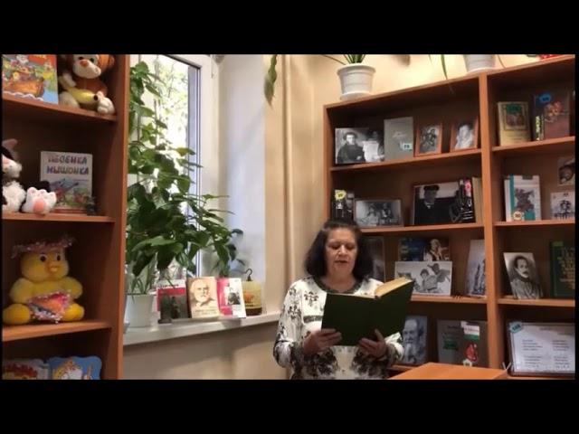 Изображение предпросмотра прочтения – ОльгаЖванко читает произведение «Я шел среди высоких гор» И.С.Тургенева
