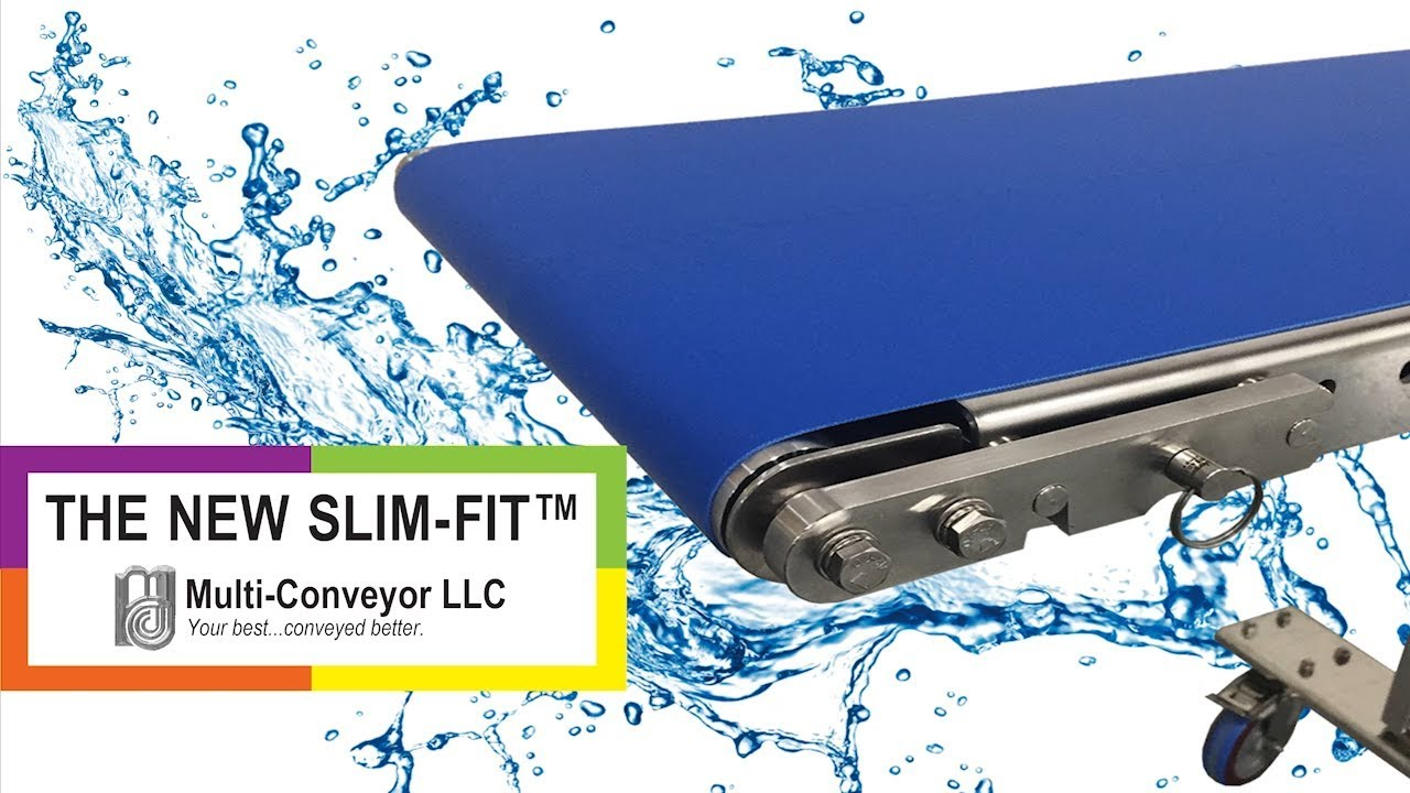 Slim-Fit Low Profile Conveyor | Toolless Small Transfer