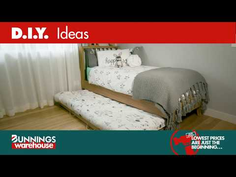 How To Make A Trundle Bed On Wheels - D.I.Y. At Bunnings