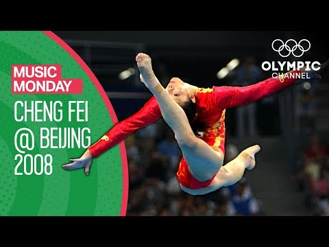 Cheng Fei's Team Gold Medal Floor Exercise From Beijing 2008 | Music Monday