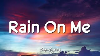 Rain On Me - Lady Gaga, Ariana Grande (Lyrics) 🎵