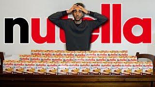 50 NUTELLA B-READY! NON FATELO A CASA! | FOOD CHALLENGE