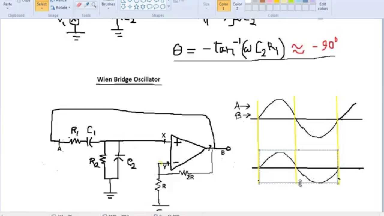 How Oscillator Works Operational Amplifier Opamp Oscillatorcircuit Diagram World Part 4 Op Amp Hd Youtube