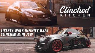 homepage tile video photo for Первый Liberty Walk G37S в России. Собрали самый широкий в мире MINI Cooper | Clinched Kitchen