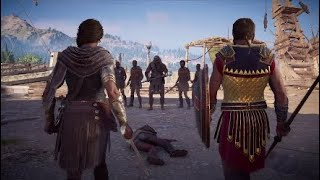 Assassin's Creed: Odyssey - Epic Fight Scene (PS4) [German]