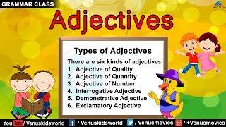 Grammar Class ~ Adjectives : Quality/ Quantity/ Number