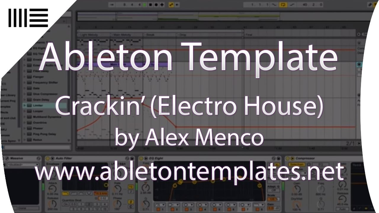 how to create a template in ableton live 9
