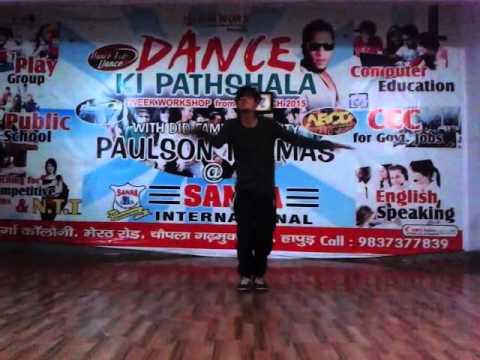 dance video by deepak sir