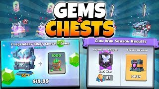 NEW GEM CHEST OFFERS BACK & WAR CHEST CHALLENGE! | Clash Royale | 1st PLACE WAR CHEST OPENING!