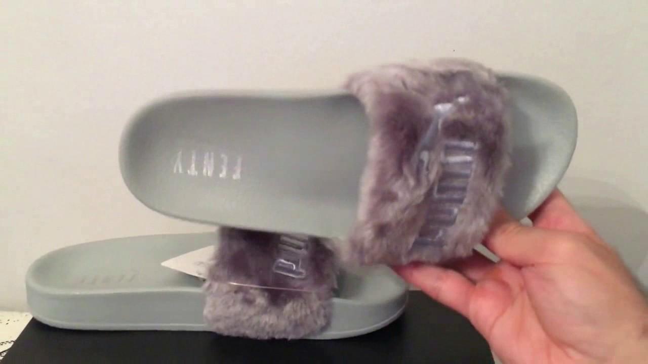 71509d121 Chinelo Puma Fenty Rihanna - YouTube