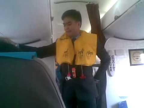 Safety Demo Garuda Indonesia CRJ 1000