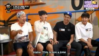 [ENG] 150622 BTS Yaman TV: V (Taehyung) Aegyo