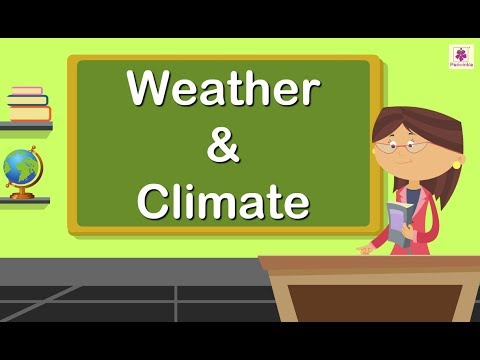 Weather and Climate For Kids | Periwinkle