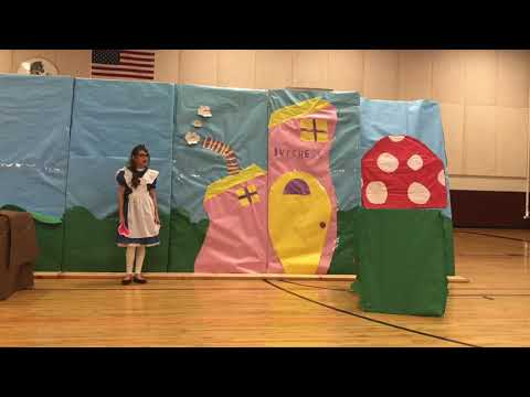 Alice in Wonderland, by Mrs. Witek's Drama Club