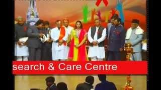 Actress Nagma!Ram Vilas Paswan Ji! Manjit Singh Bitta !R.K Excellence National Award 2012! New Delhi