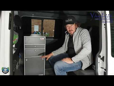 New VanEssa mobilcamping Oslo Interior Kitchen Module for VW Multivan and Caravelle and Transporter
