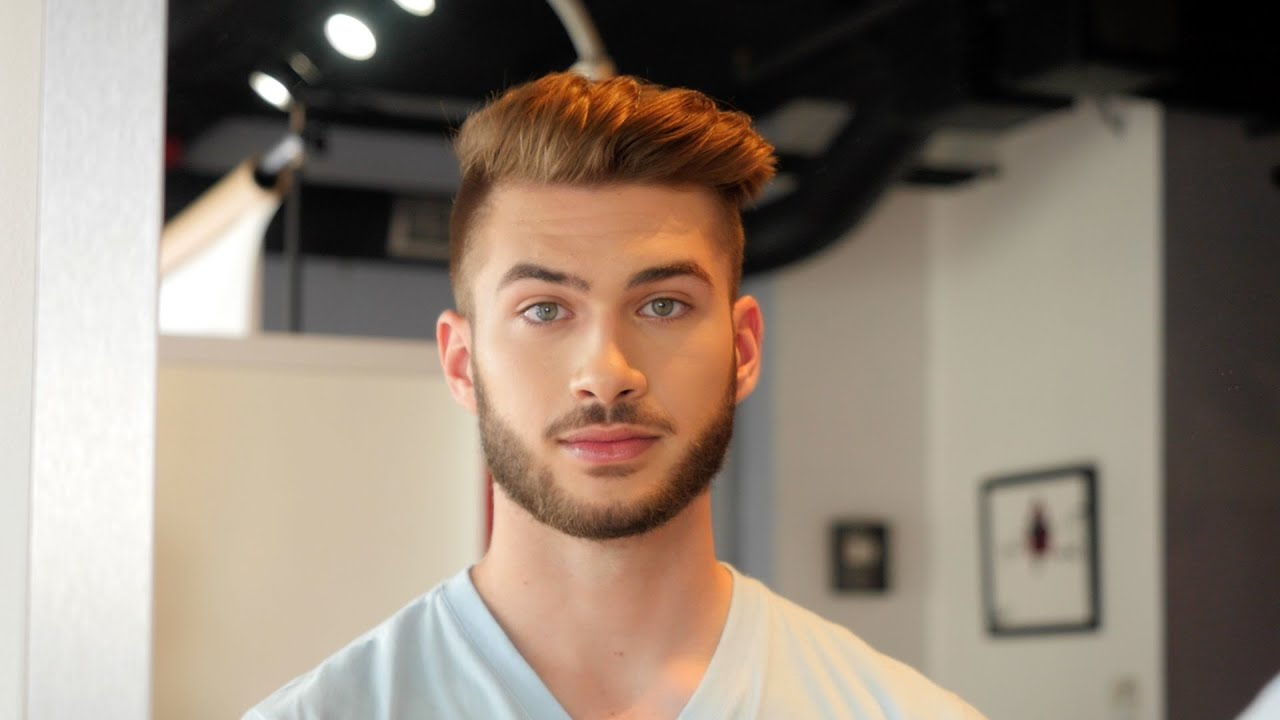 Male Model Hairstyle Thesalonguy Youtube