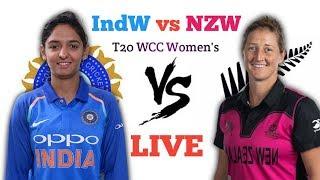 🔴LIVE: India vs New Zealand Women's T20 WCC Live | INDW vs NZW T20 WCC Live |