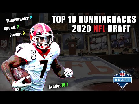 Top 10 Runningbacks In The 2020 NFL Draft