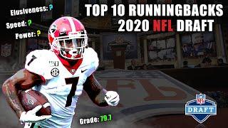Top 10 Runningbacks In The 2020 NFL Draft