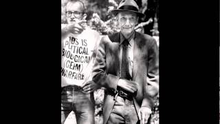 SHOWstudio: Photographing William S. Burroughs - Keith Haring at William's home