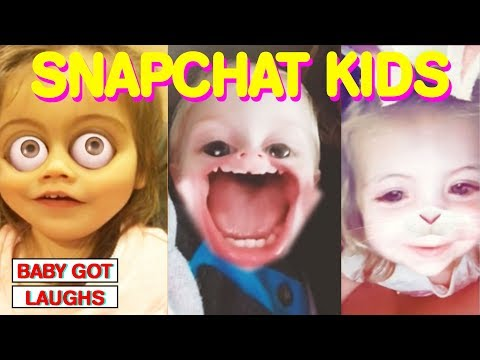 Funniest Snapchat Babies! HILARIOUS Kids Using Face Filters YOU WILL LAUGH MAY 2018 thumbnail