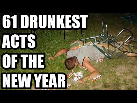 61 Drunkest Acts of the New Year